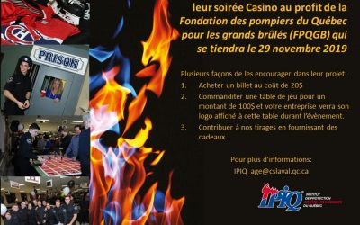Soirée Casino à l'IPIQ