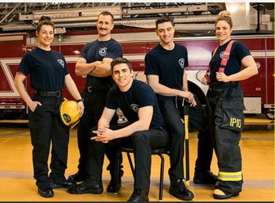 Émission Pompiers : la relève
